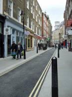 New Row, Covent Garden, London.