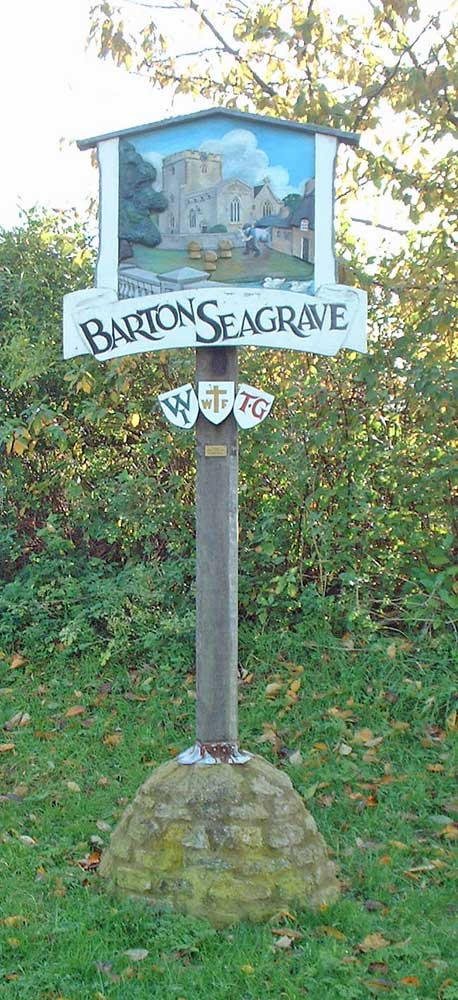 Our village sign
