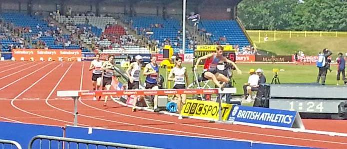British Athletics Championships.