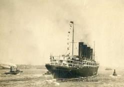 Lusitania's maiden voyage in 1907