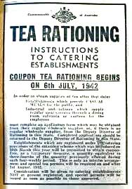 1952 Teas rationing ended.