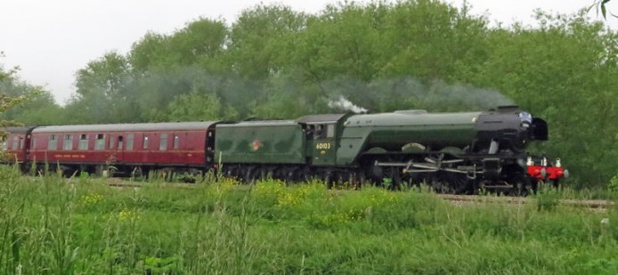 1934 The Flying Scotsman became the first steam locomotive to reach 100mph.