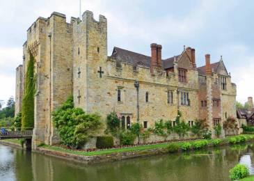 Hever Castle - childhood home of Anne Boleyn who married Henry VIII in 1533.