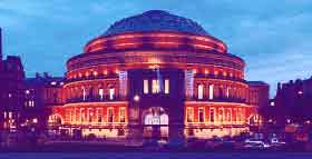 Royal Albert Hall opened in 1871.
