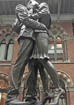 Kissing was banned on French Railways in 1910.