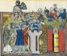 1099 the first Crusaders arrived at the walls of Jerusalem.