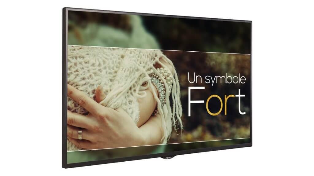 écran pour affichage dynamique digitalisation de point de vente