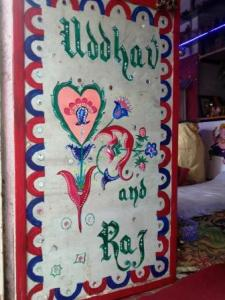 PAINTING IN ONE SHOP IN UDAIPUR