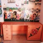 PAINTING ON FURNITURE
