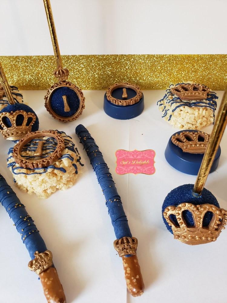 Royal crown Pretzel sticks