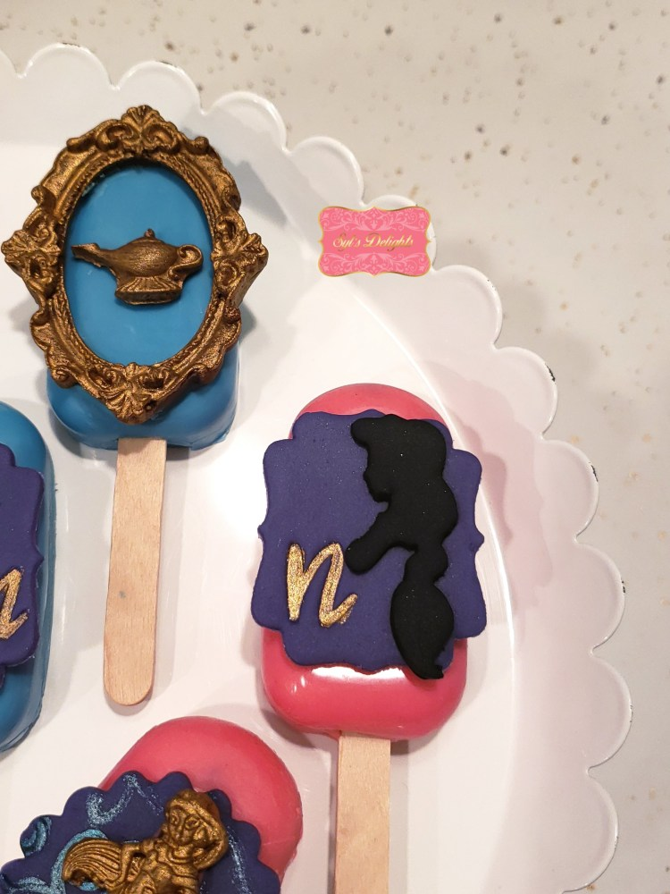 Aladdin cakesicles