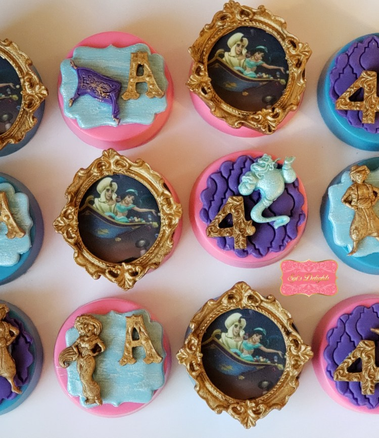 Aladdin party package