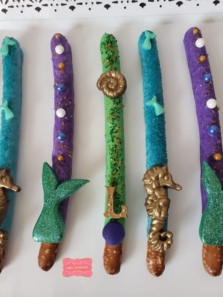 Mermaid Pretzel sticks