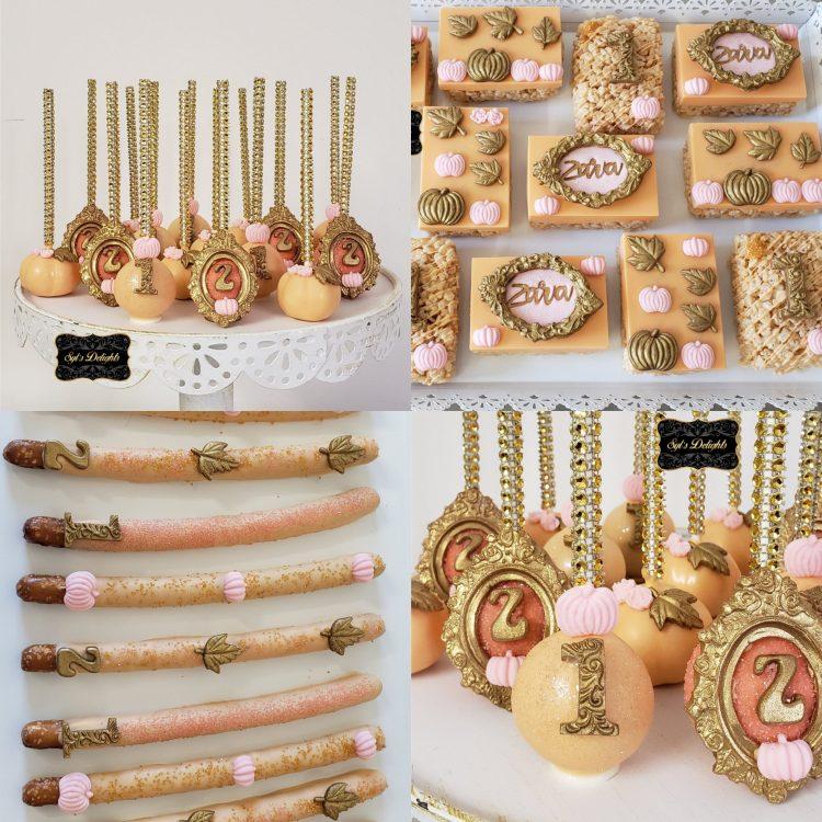 Cute Pumpkin party package