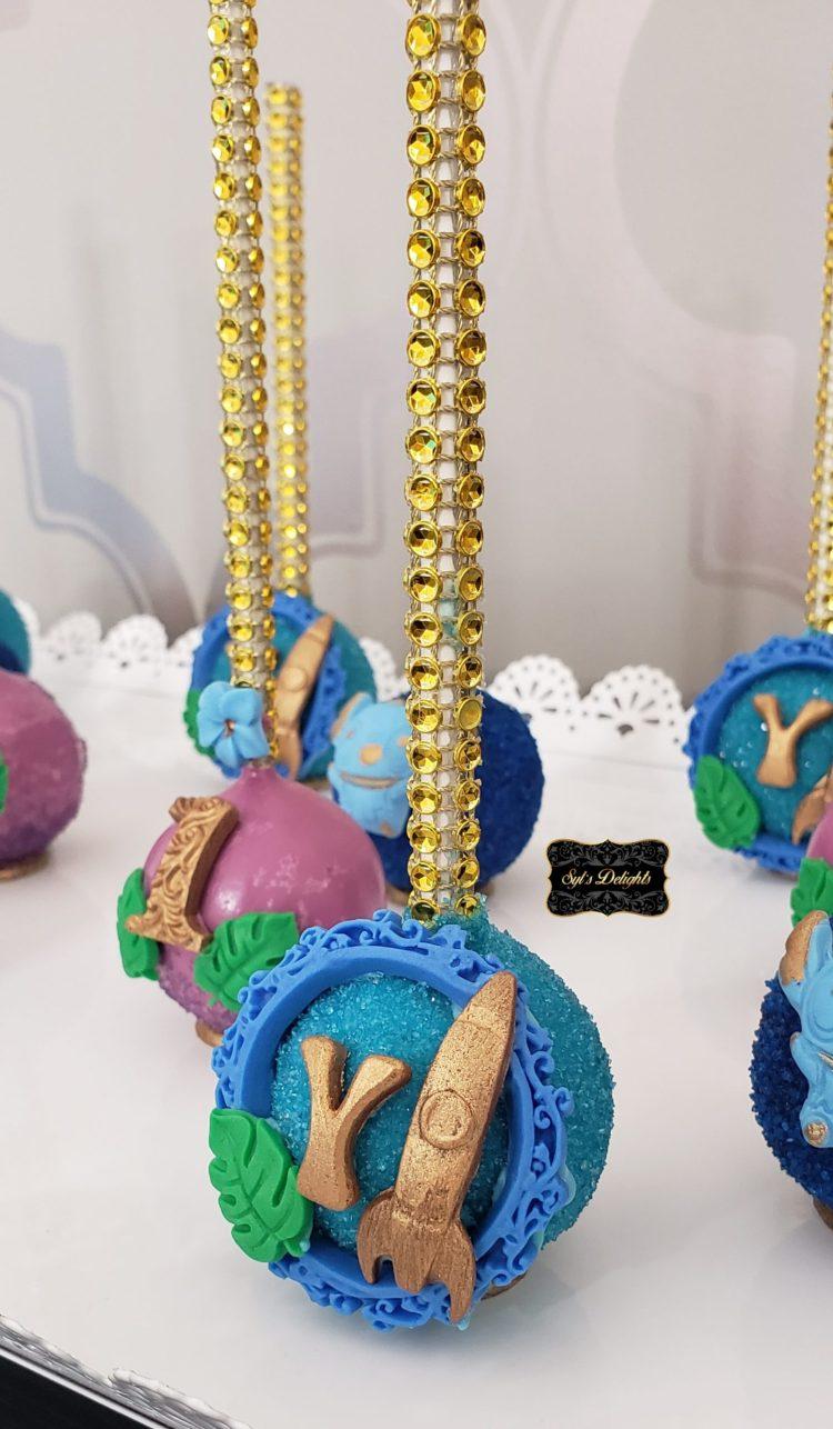 Stitch Cakepops