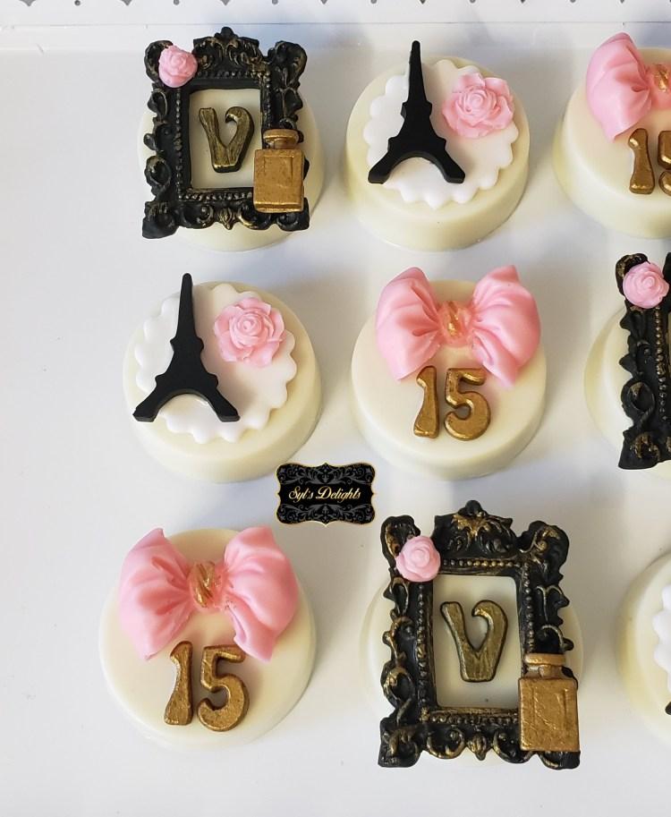 Paris pink Oreo cookies