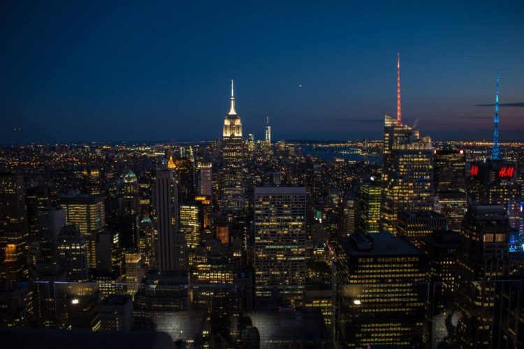 Le quartier Midtown, vue du Top of the Rock.
