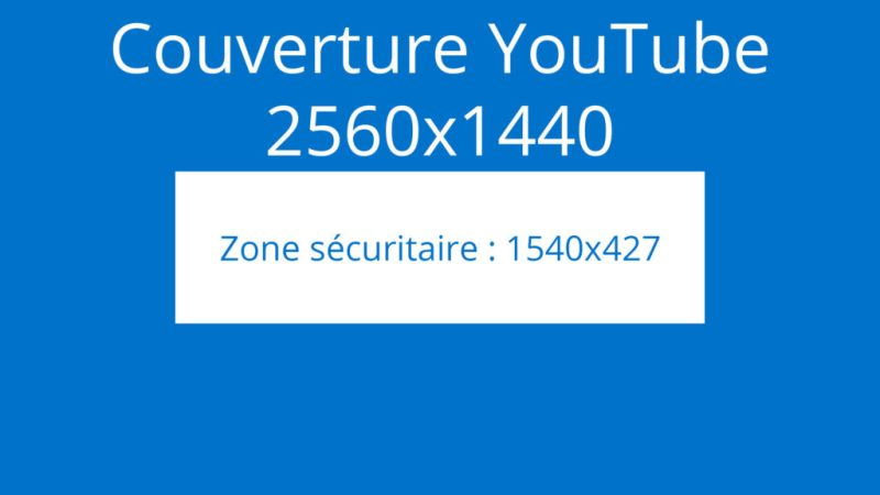 La couverture YouTube, au format 2560 x 1440 pixels.