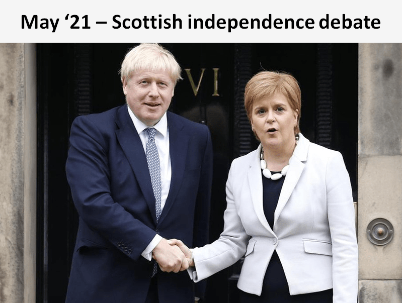 In the Scottish independence debate, Sylvans considered whether UK politicians can hold the union together, and disagreed in a close vote.