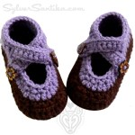 Baby Double Strap Booties
