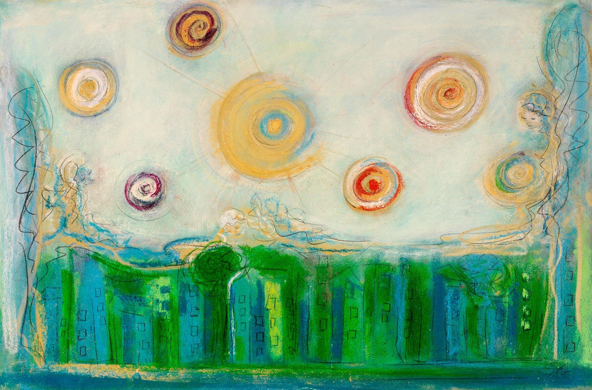 "Bild Sylvia Wolff"" Handvoll Ufer"" 2016"