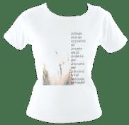 LoveSpellPoem SkinnyT (White) £47