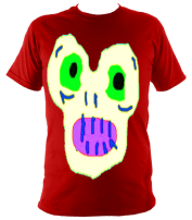 MagicMoster Kids T-Shirt (Red) £36 Sizes: 5-6, 7-8, 9-10, 11-12, 13-14,