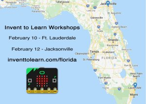 Florida workshop map