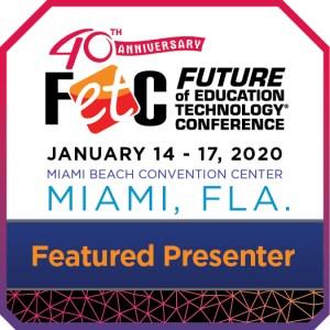 FETC featured presenter badge