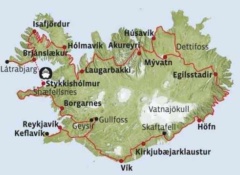 Island Rundreise