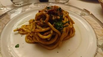 Leckere selbsgemachten Spaghetti