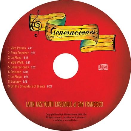 """CD Cover, """"Generaciones"""""""