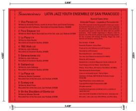 """Booklet - page 1 """"Generaciones"""""""