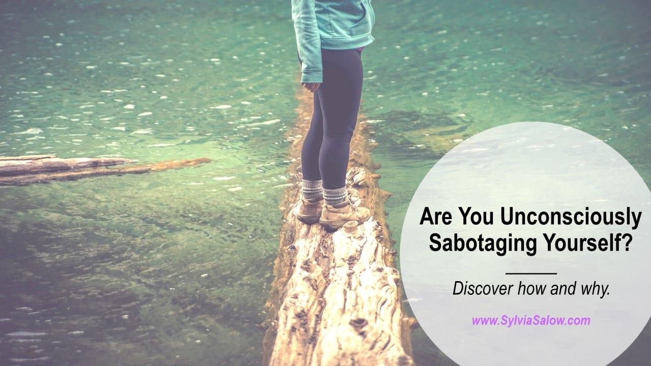 self-sabotaging behavior