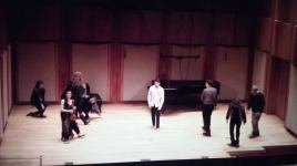Degree recital encore—improvisation for movement, with audience participation. February 2015