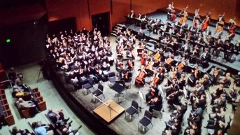 Verdi's Requiem at Bard College, with Leon Botstein, members of the American Symphony Orchestra and Bard Festival Chorus, and students from Bard and Longy. April 2014