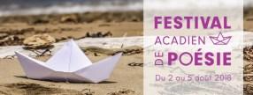 Festival acadien de poésie 2018