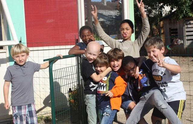 Des élèves du primaire.