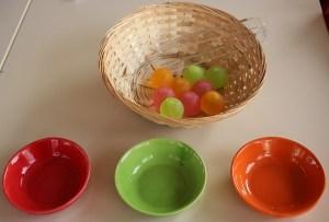 Montessori vie pratique tris.
