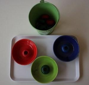 Montessori vie pratique tris