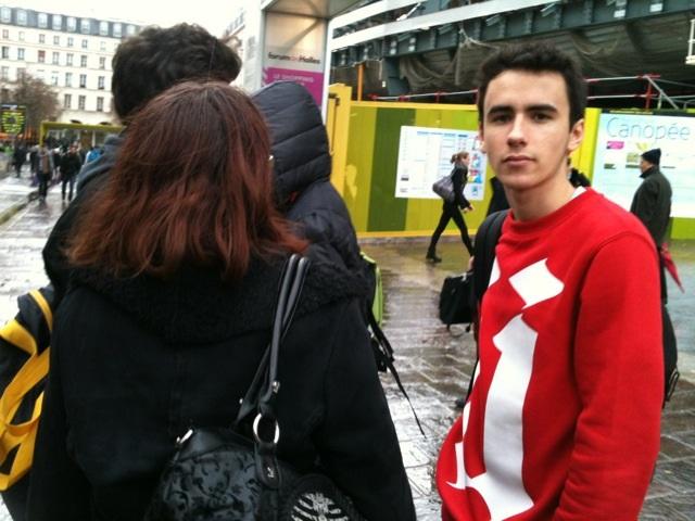 Arrivée au Centre Pompidou