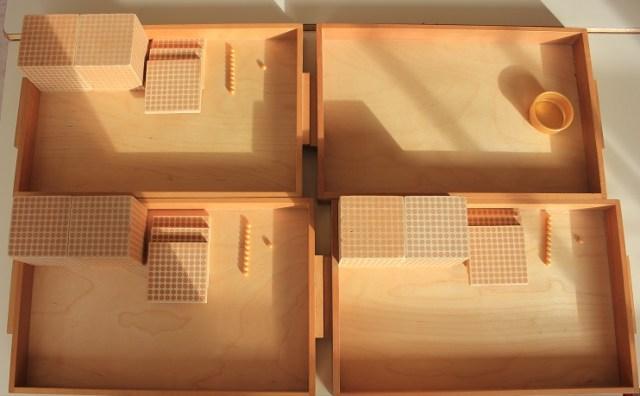 Montessori les unités