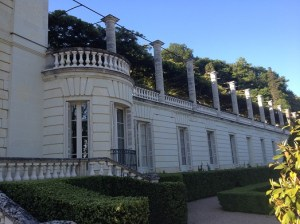 Le magnifique Château de Rochecotte.