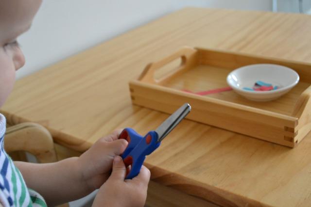Montessori découpage.