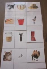 Montessori les mots