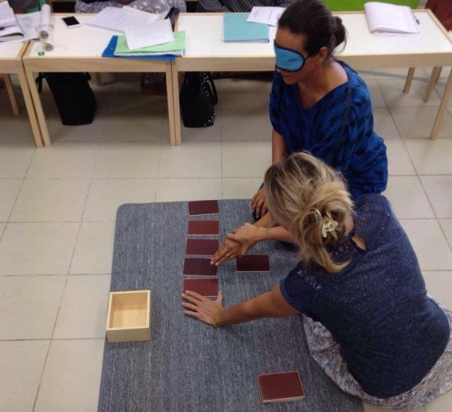 Montessori - sensoriel