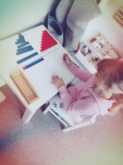 Une jolie semaine d'activités Montessori