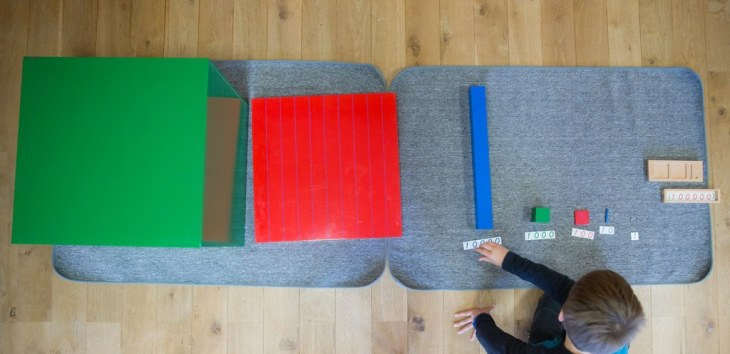 Montessori mathématiques.
