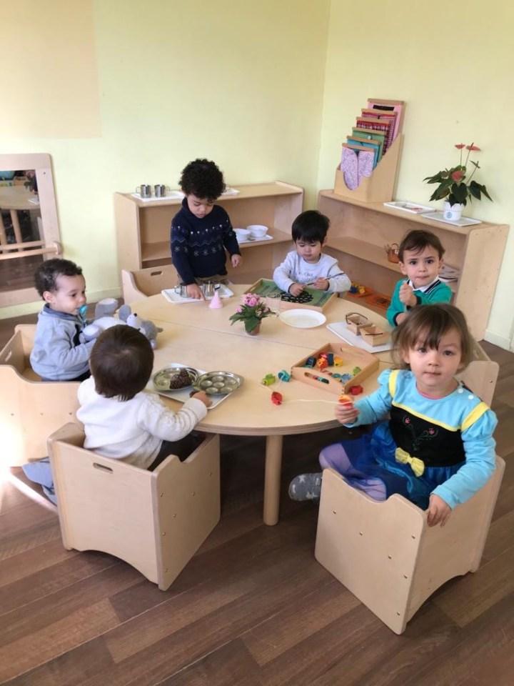 Des petits élèves heureux !