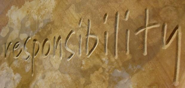 Responsibility CCBYSA by Helen K via Flickr